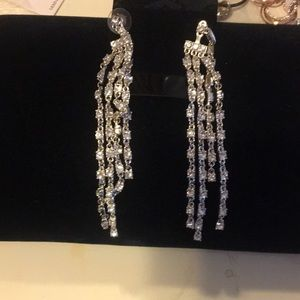 Gorgeous rhinestone earrings